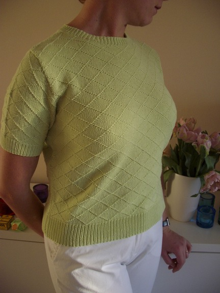 Diamond Stitch Sweater